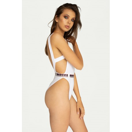 ONE PIECE SWIMSUIT WHITE