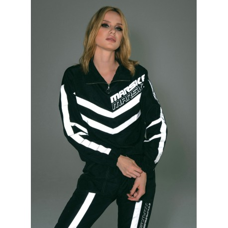 BLACK SWEATSHIRT REFLECTIVE TAPE