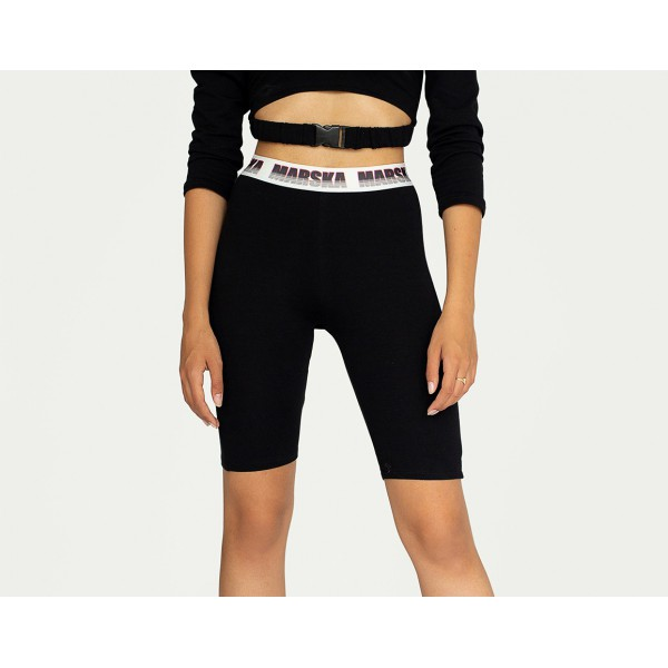 BIKER SHORTS ELASTIC BELT